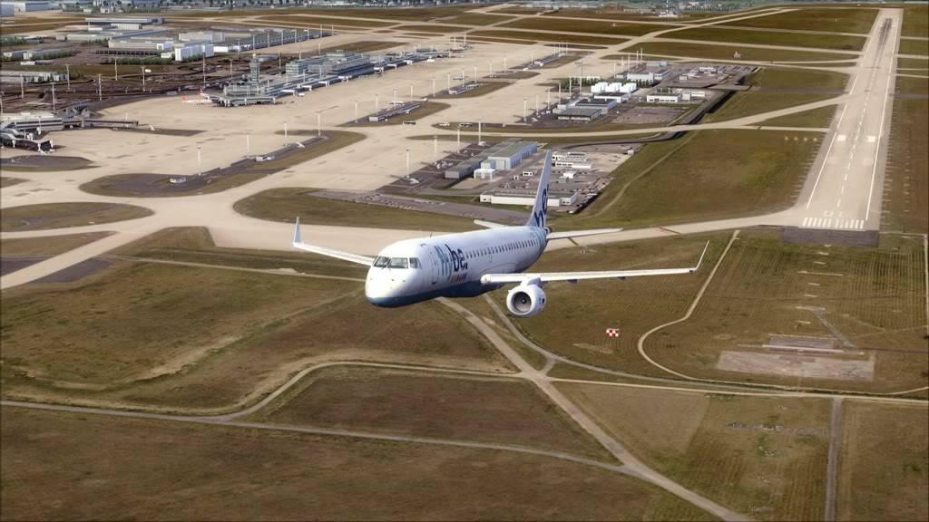 Flybe E195 -> Paris/LFPO - Cardiff/EGFF LFPO-EGFF8