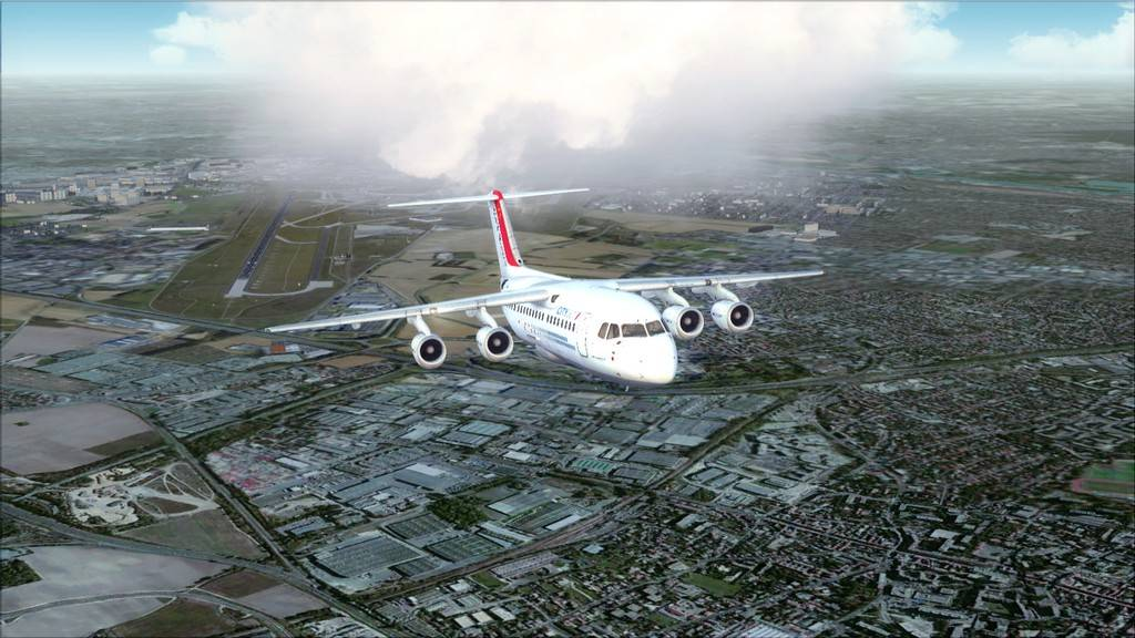 City Jet-> Paris Orly - London City Airport LFPO-EGLC15