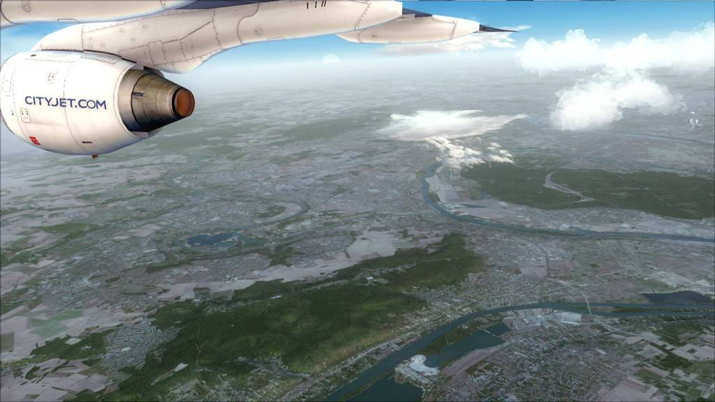 City Jet-> Paris Orly - London City Airport LFPO-EGLC20