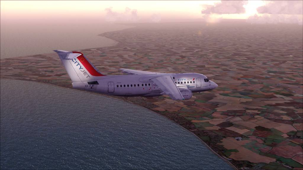 City Jet-> Paris Orly - London City Airport LFPO-EGLC27