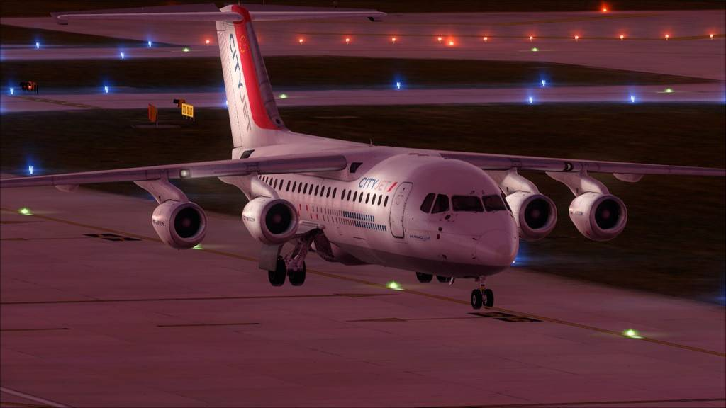 City Jet-> Paris Orly - London City Airport LFPO-EGLC43