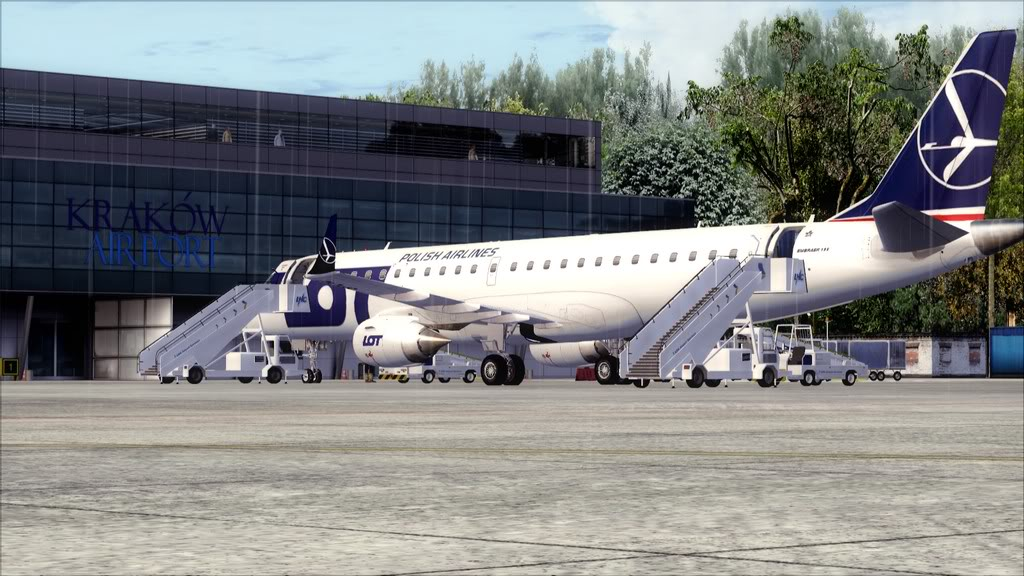 LOT E195 -> Athens/LGAV - Krakow/EPKK LGAV-EPKK21
