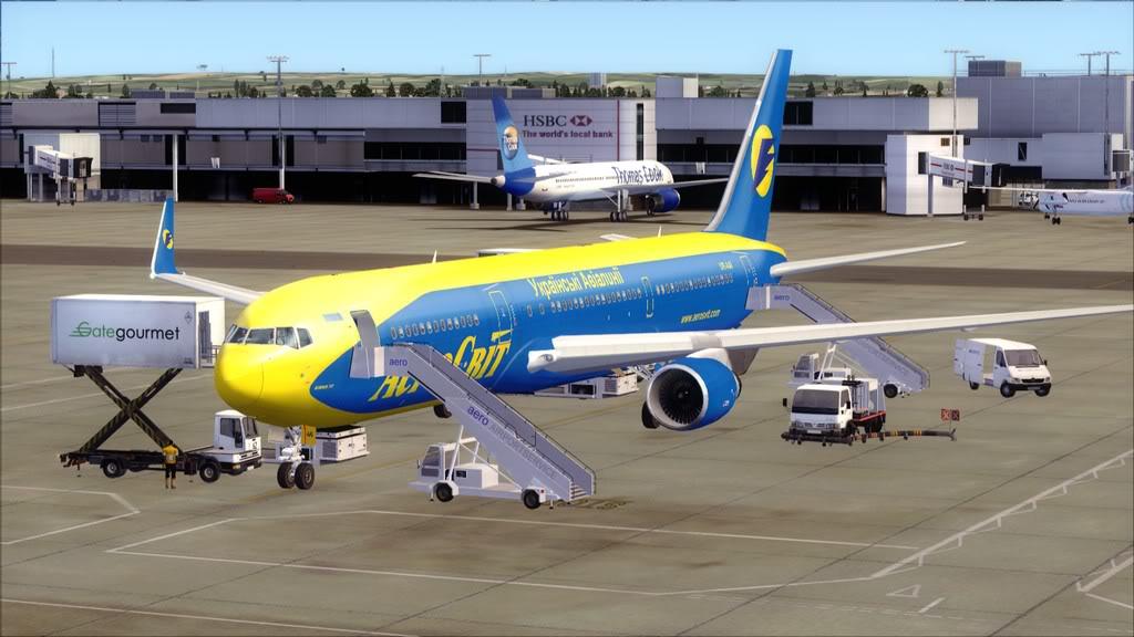 AeroSvit-> London Gatwick/EGKK - Kiev/UKBB EGKK-UKBB
