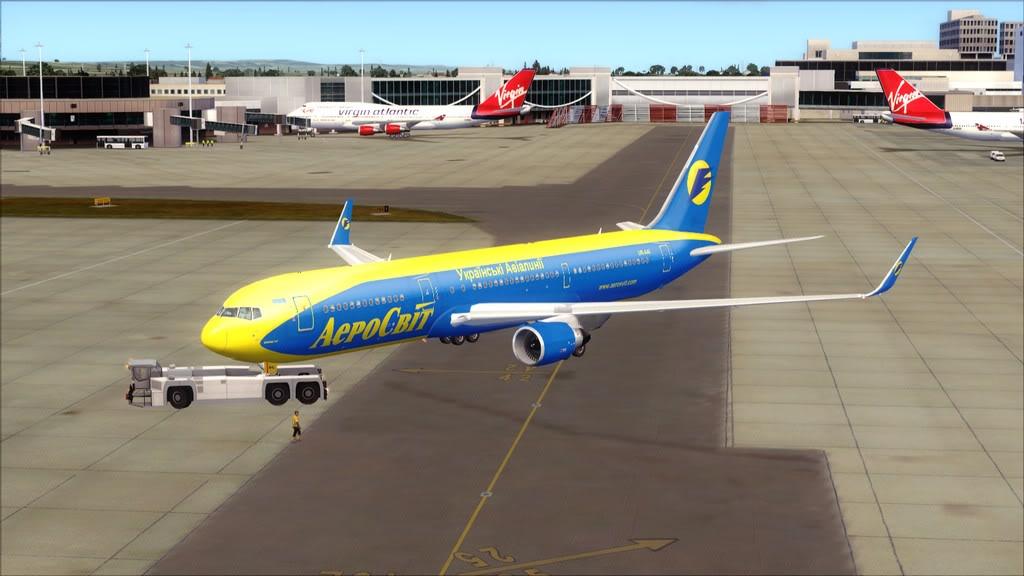 AeroSvit-> London Gatwick/EGKK - Kiev/UKBB EGKK-UKBB2
