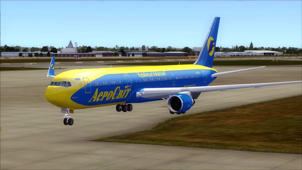 AeroSvit-> London Gatwick/EGKK - Kiev/UKBB EGKK-UKBB3