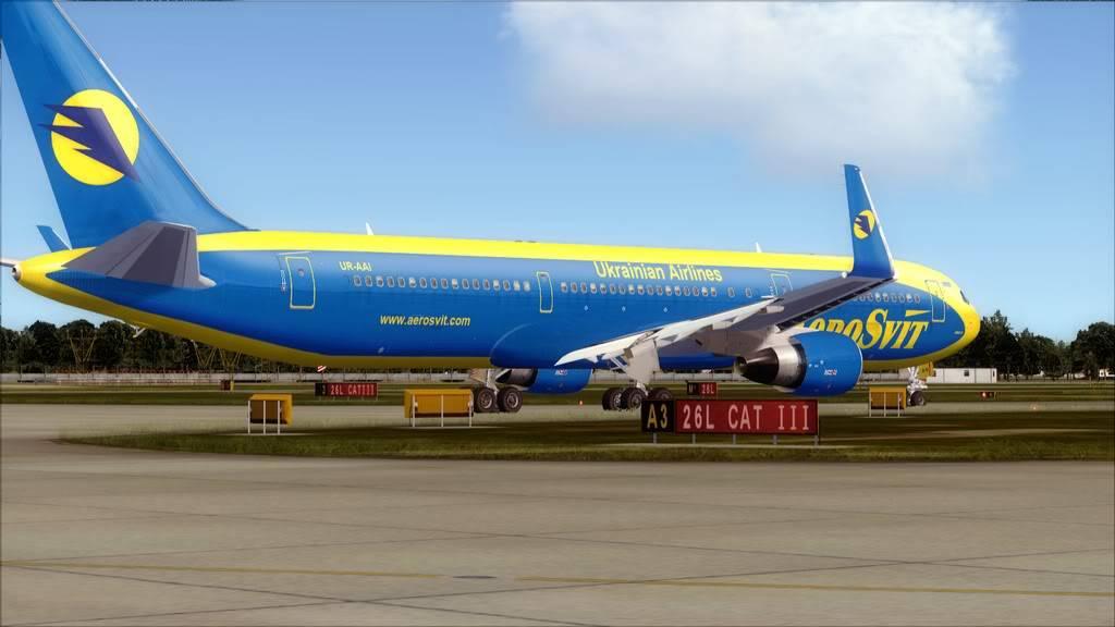 AeroSvit-> London Gatwick/EGKK - Kiev/UKBB EGKK-UKBB4