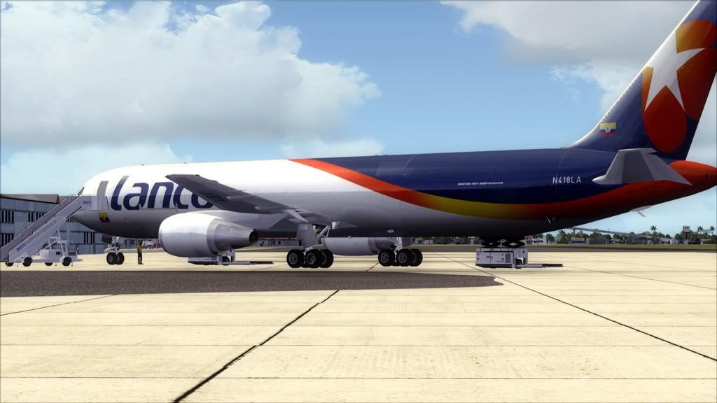 Lanco/B767-> Santo Domingo/MDSD - Miami/KMIA MDSD-KMIA