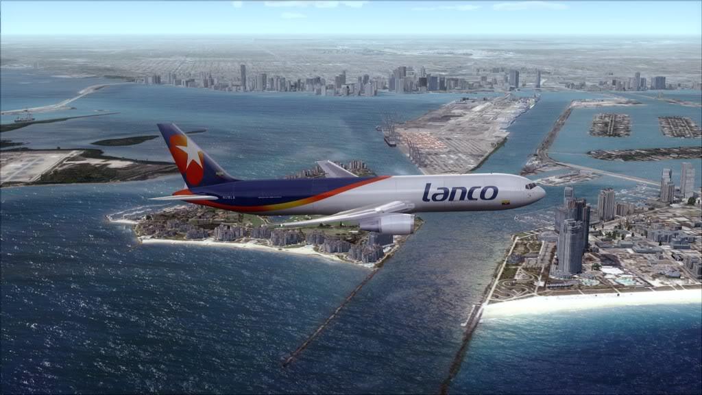 Lanco/B767-> Santo Domingo/MDSD - Miami/KMIA MDSD-KMIA13