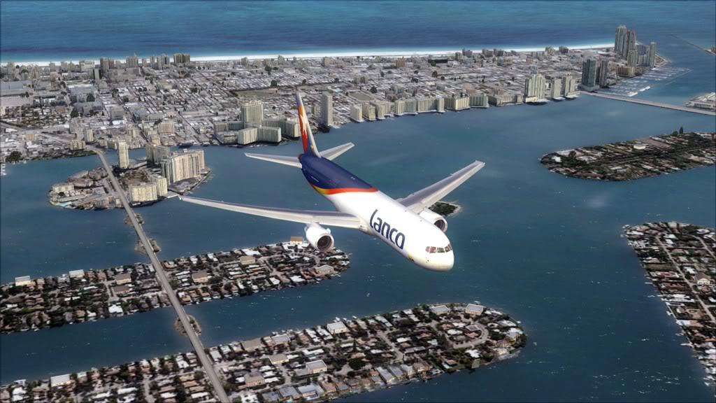 Lanco/B767-> Santo Domingo/MDSD - Miami/KMIA MDSD-KMIA18