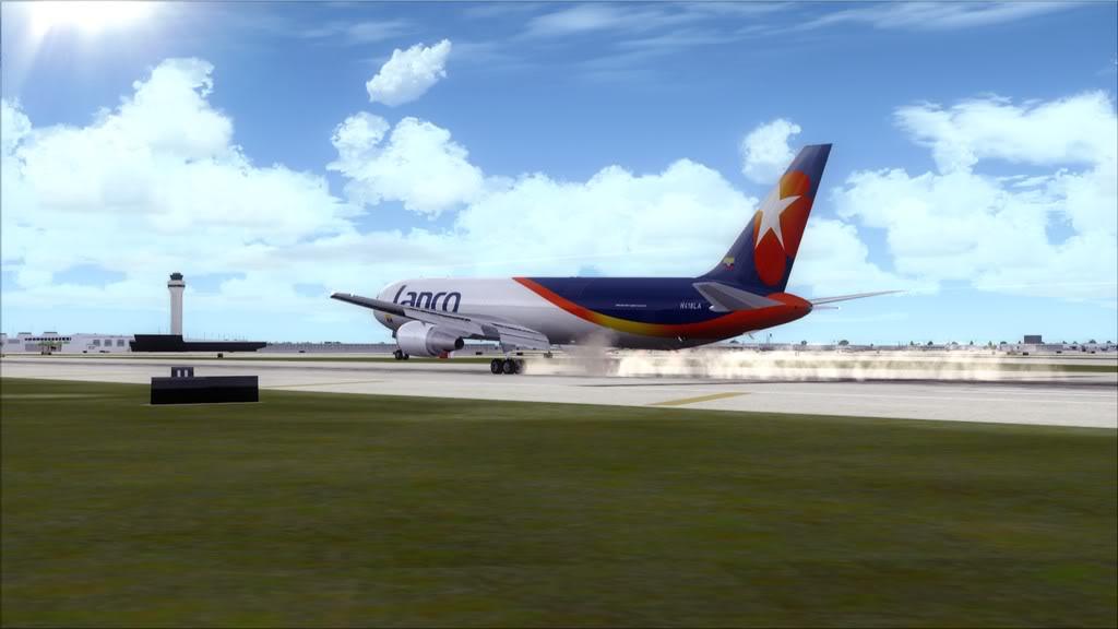 Lanco/B767-> Santo Domingo/MDSD - Miami/KMIA MDSD-KMIA24