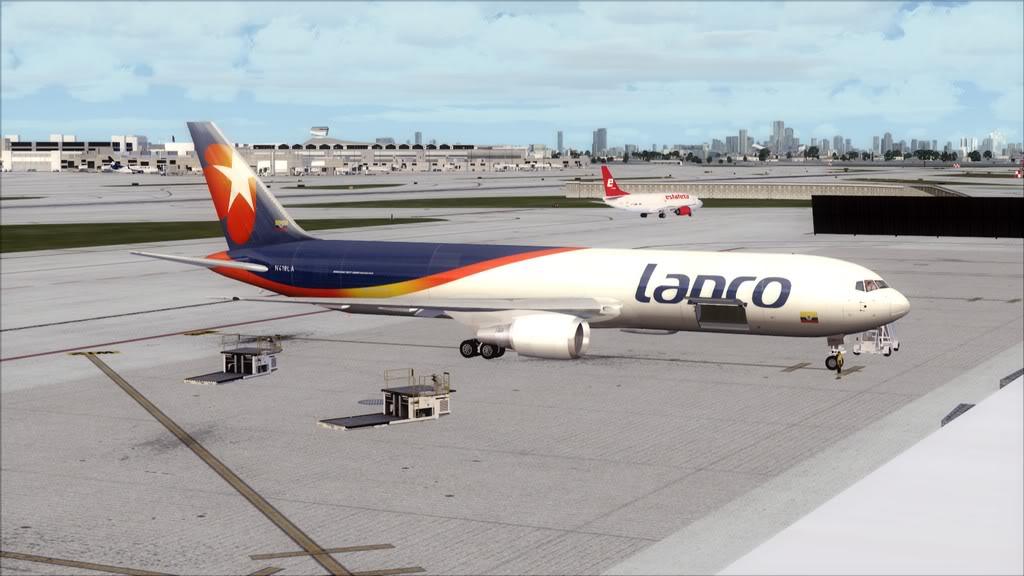Lanco/B767-> Santo Domingo/MDSD - Miami/KMIA MDSD-KMIA25