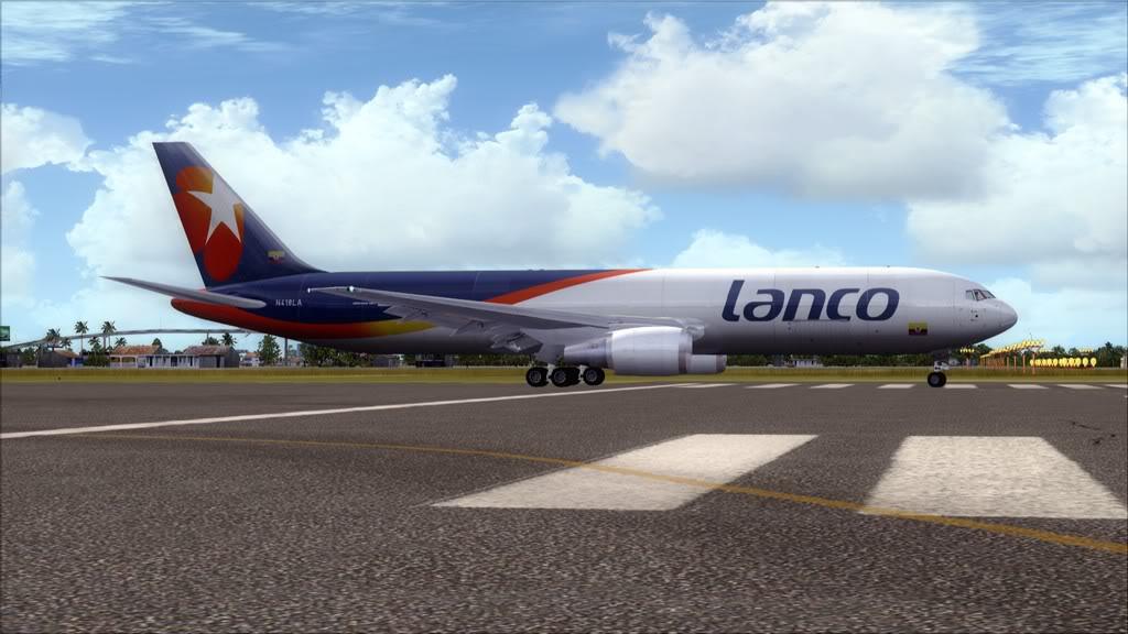 Lanco/B767-> Santo Domingo/MDSD - Miami/KMIA MDSD-KMIA4