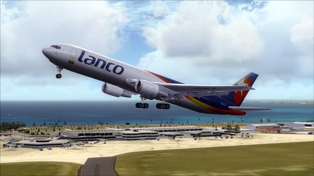 Lanco/B767-> Santo Domingo/MDSD - Miami/KMIA MDSD-KMIA6