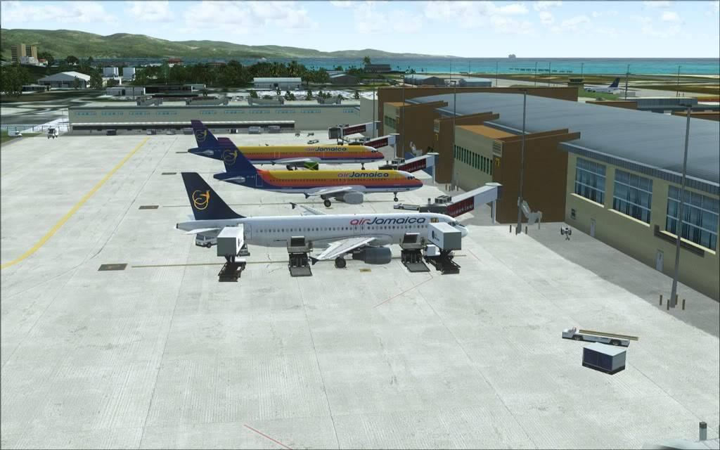 (FSX)Um voo com tweaks MKJP-MKJS