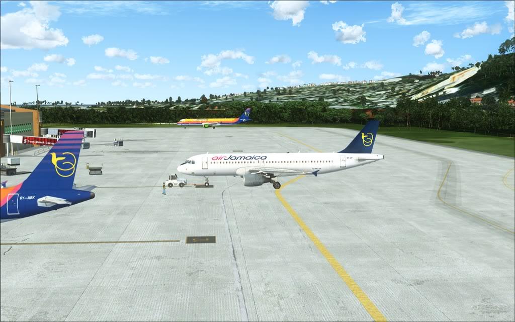 (FSX)Um voo com tweaks MKJP-MKJS1