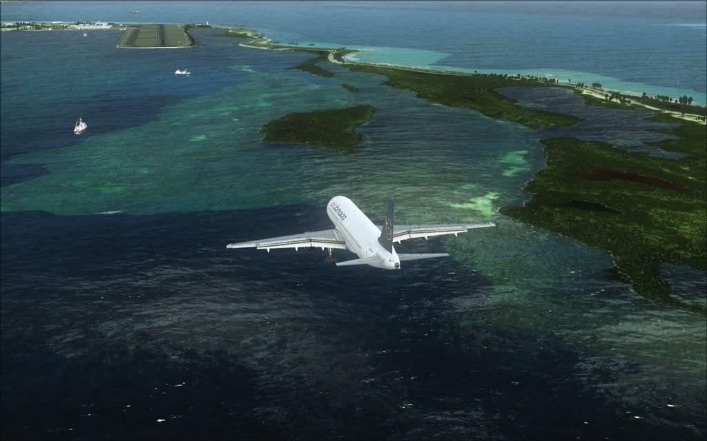 (FSX)Um voo com tweaks MKJP-MKJS10