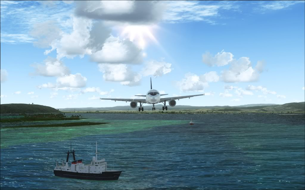 (FSX)Um voo com tweaks MKJP-MKJS12