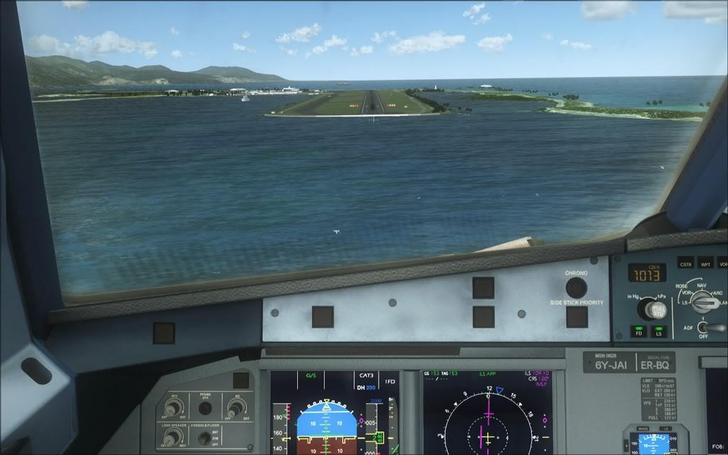 (FSX)Um voo com tweaks MKJP-MKJS13