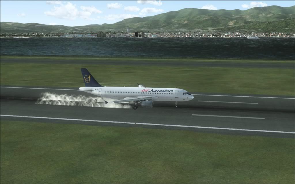 (FSX)Um voo com tweaks MKJP-MKJS14