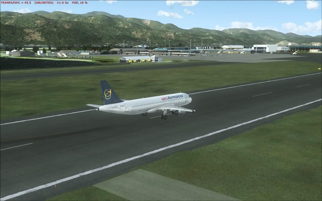 (FSX)Um voo com tweaks MKJP-MKJS16