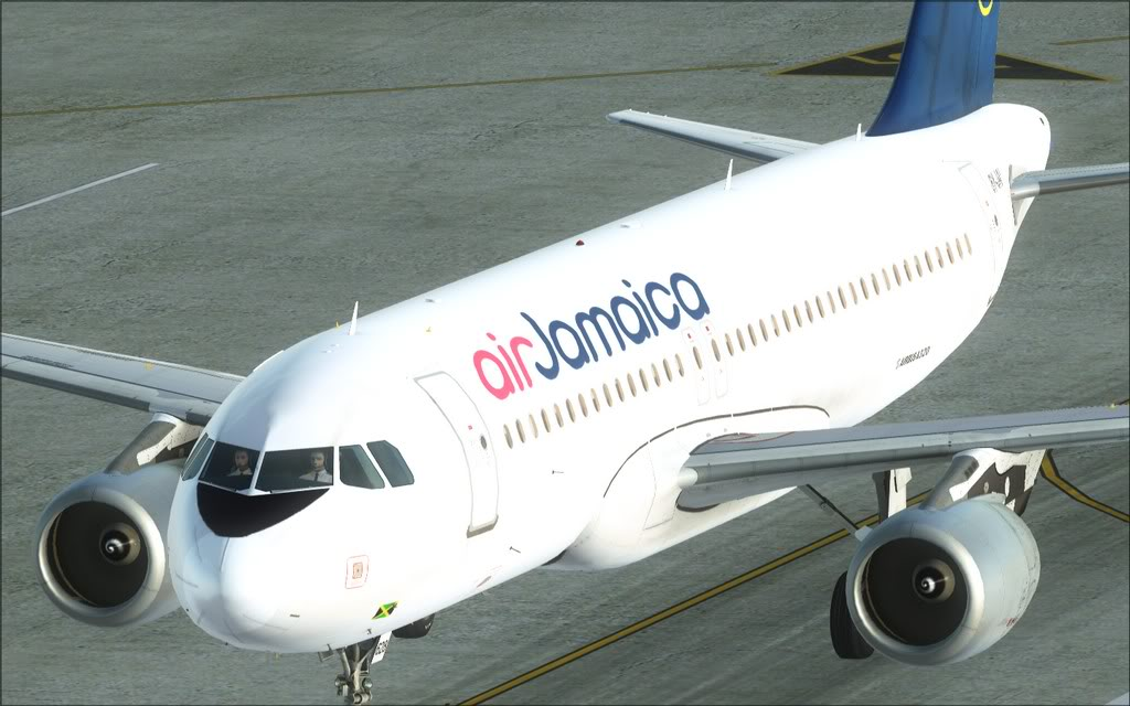 (FSX)Um voo com tweaks MKJP-MKJS17
