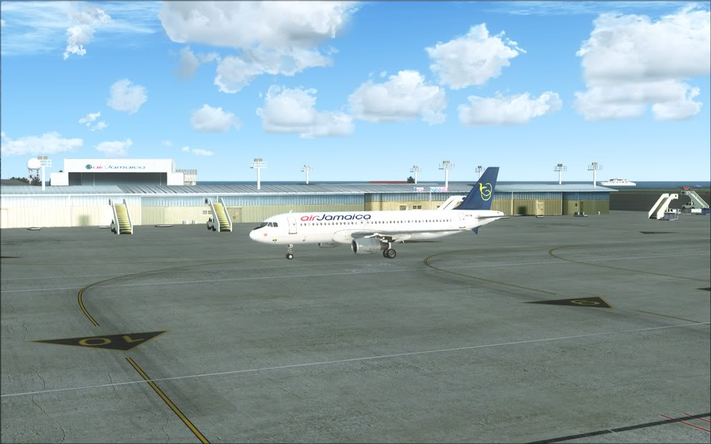 (FSX)Um voo com tweaks MKJP-MKJS18