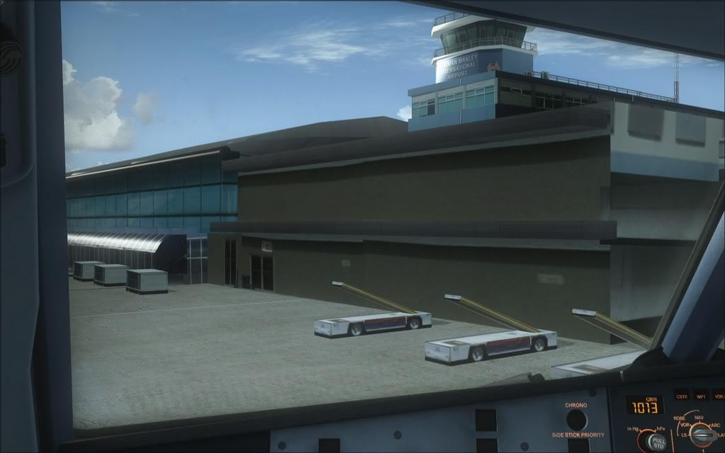 (FSX)Um voo com tweaks MKJP-MKJS19