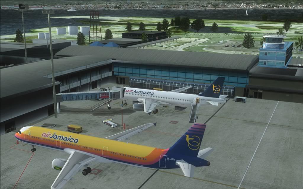 (FSX)Um voo com tweaks MKJP-MKJS20