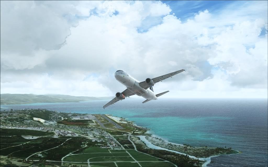 (FSX)Um voo com tweaks MKJP-MKJS4