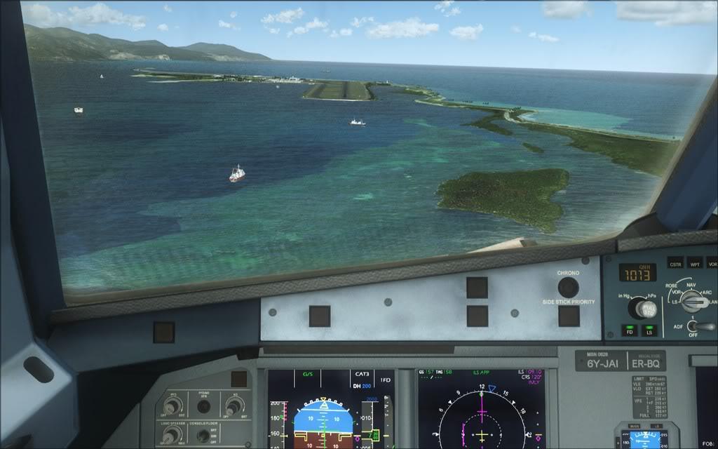 (FSX)Um voo com tweaks MKJP-MKJS9