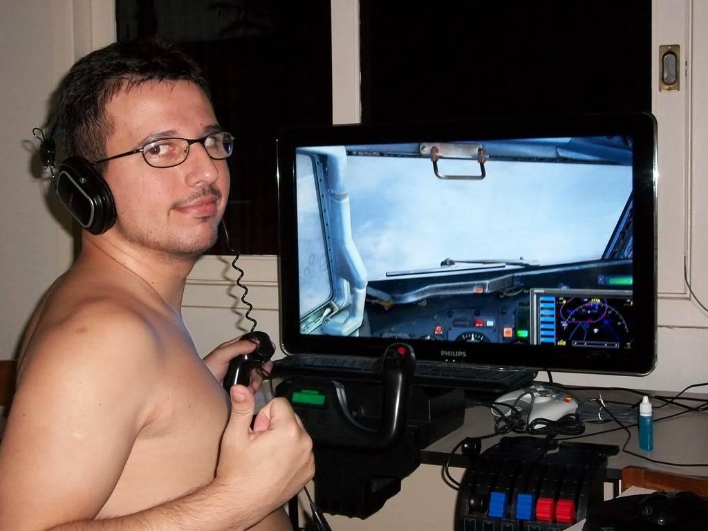 """Eu e meu """"cockpit"""" ParaoVV"""