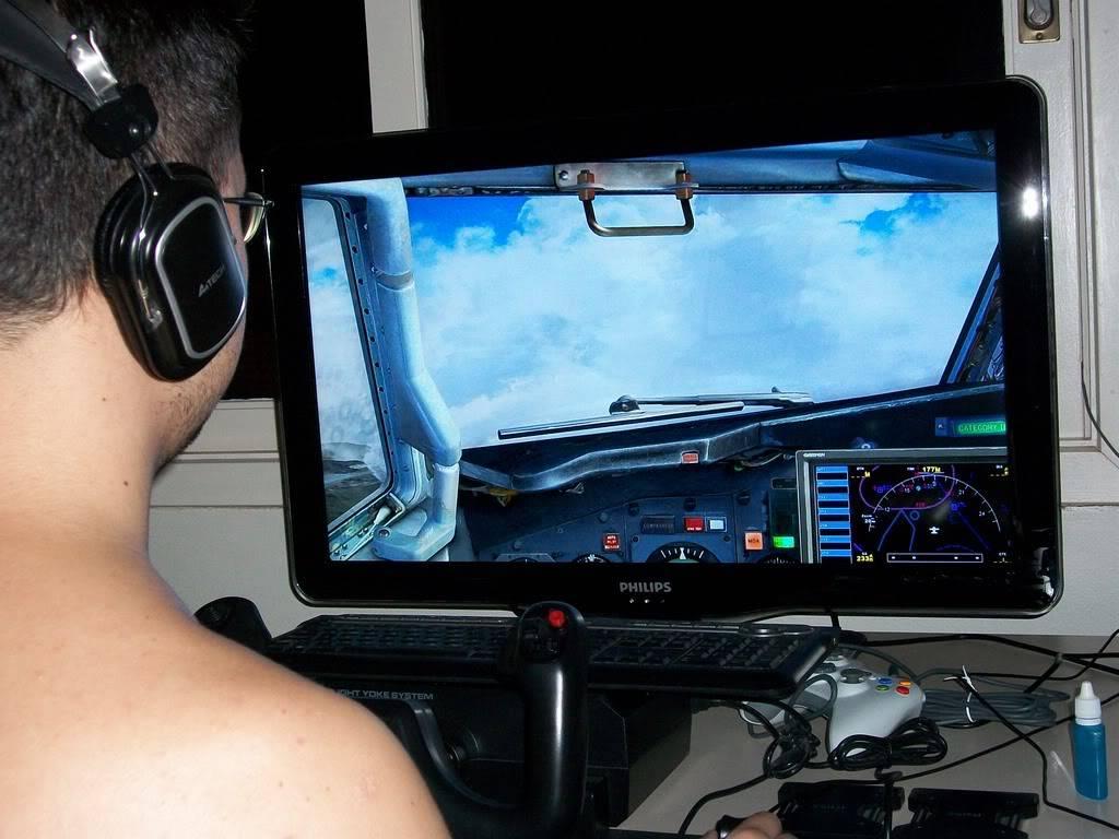 """Eu e meu """"cockpit"""" ParaoVV2"""