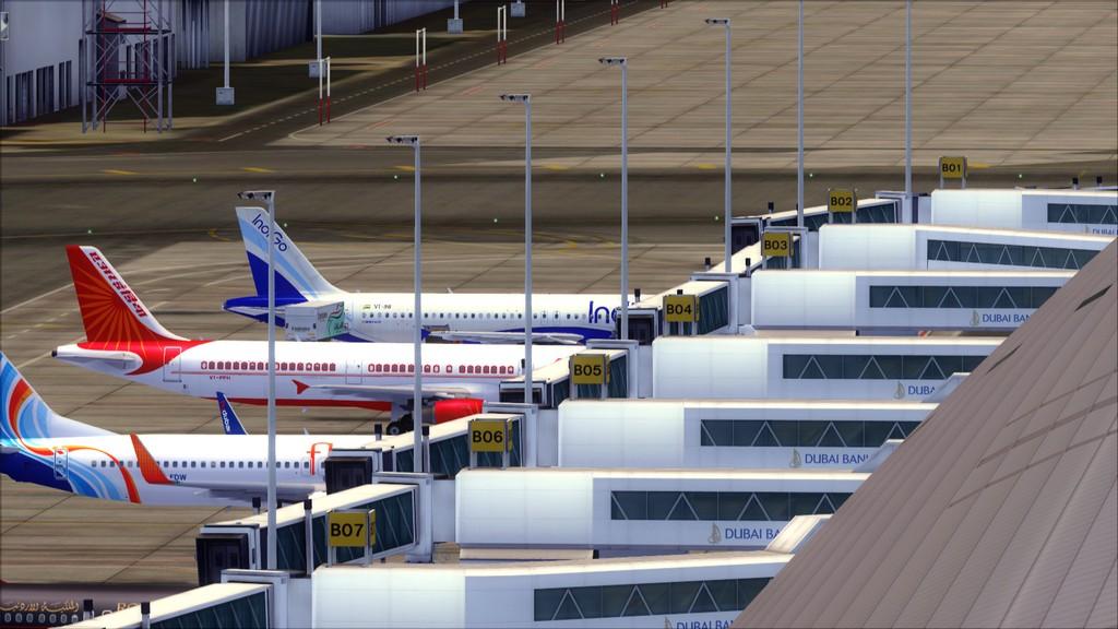 IndiGo A320 -> Dubai/OMDB - Mumbai/VABB OMDB-VABB