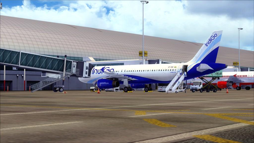IndiGo A320 -> Dubai/OMDB - Mumbai/VABB OMDB-VABB1