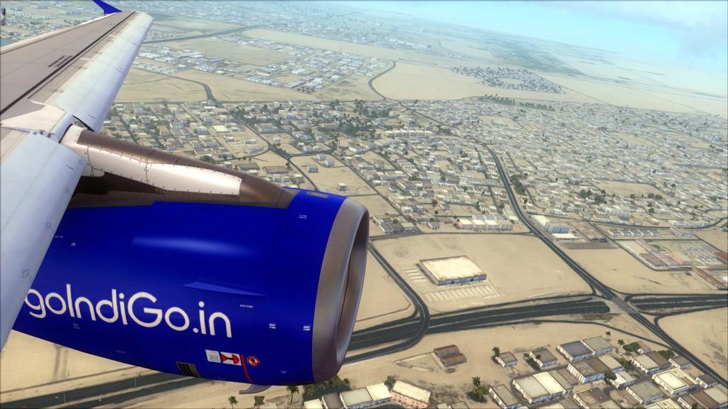IndiGo A320 -> Dubai/OMDB - Mumbai/VABB OMDB-VABB11