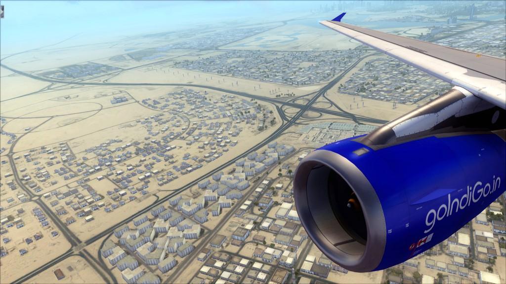 IndiGo A320 -> Dubai/OMDB - Mumbai/VABB OMDB-VABB12