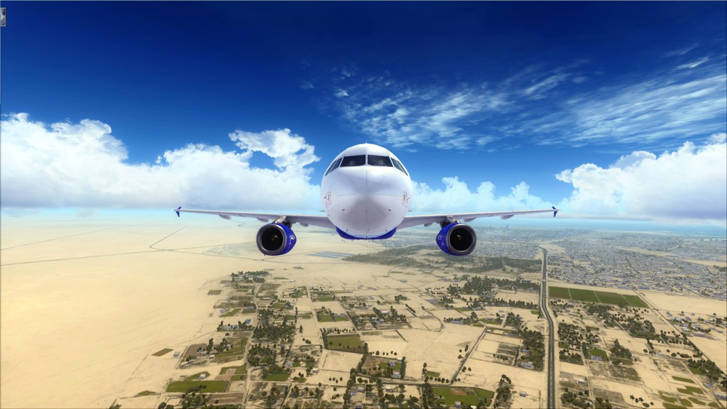 IndiGo A320 -> Dubai/OMDB - Mumbai/VABB OMDB-VABB14