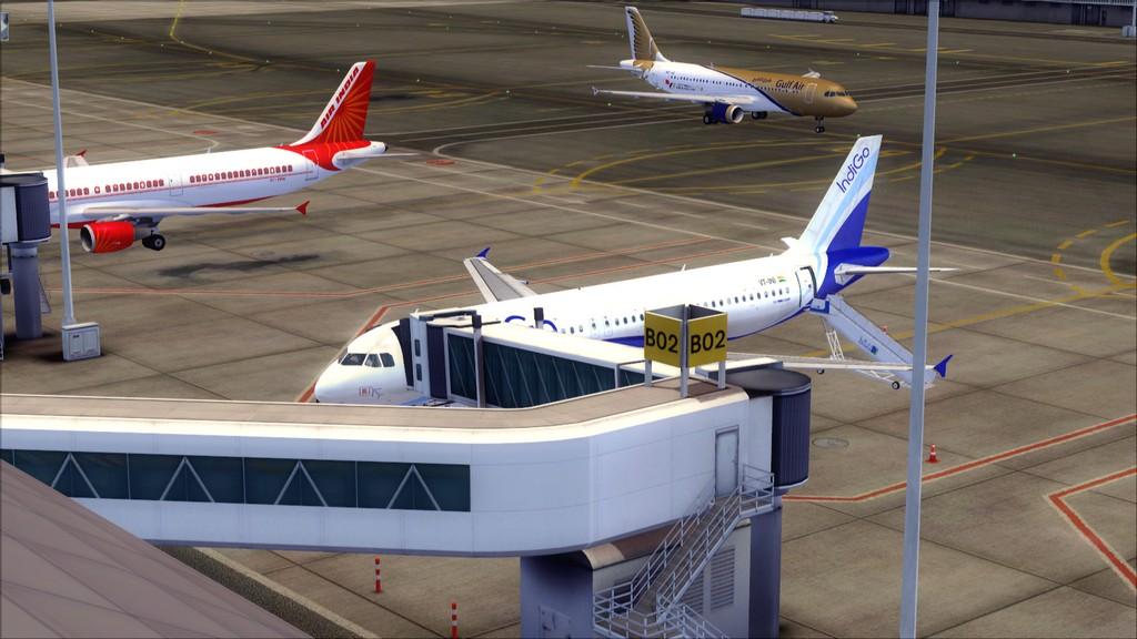 IndiGo A320 -> Dubai/OMDB - Mumbai/VABB OMDB-VABB2