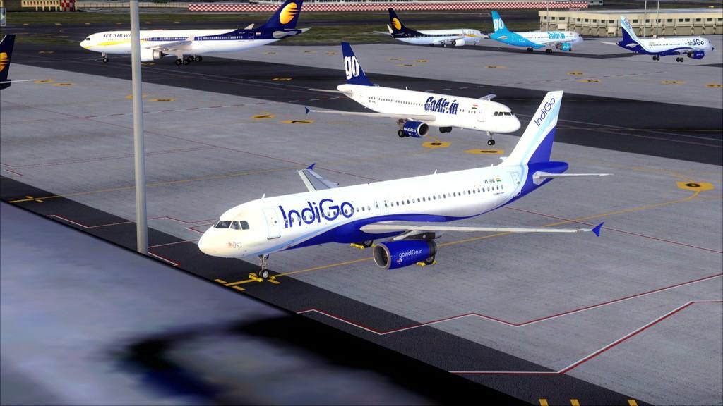 IndiGo A320 -> Dubai/OMDB - Mumbai/VABB OMDB-VABB22