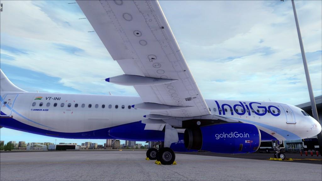IndiGo A320 -> Dubai/OMDB - Mumbai/VABB OMDB-VABB23