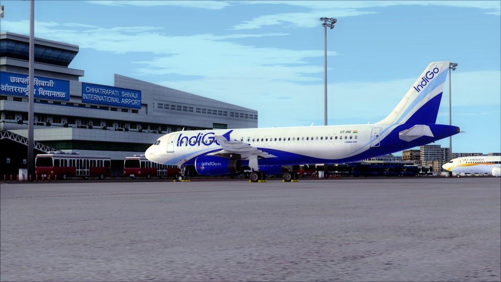 IndiGo A320 -> Dubai/OMDB - Mumbai/VABB OMDB-VABB24