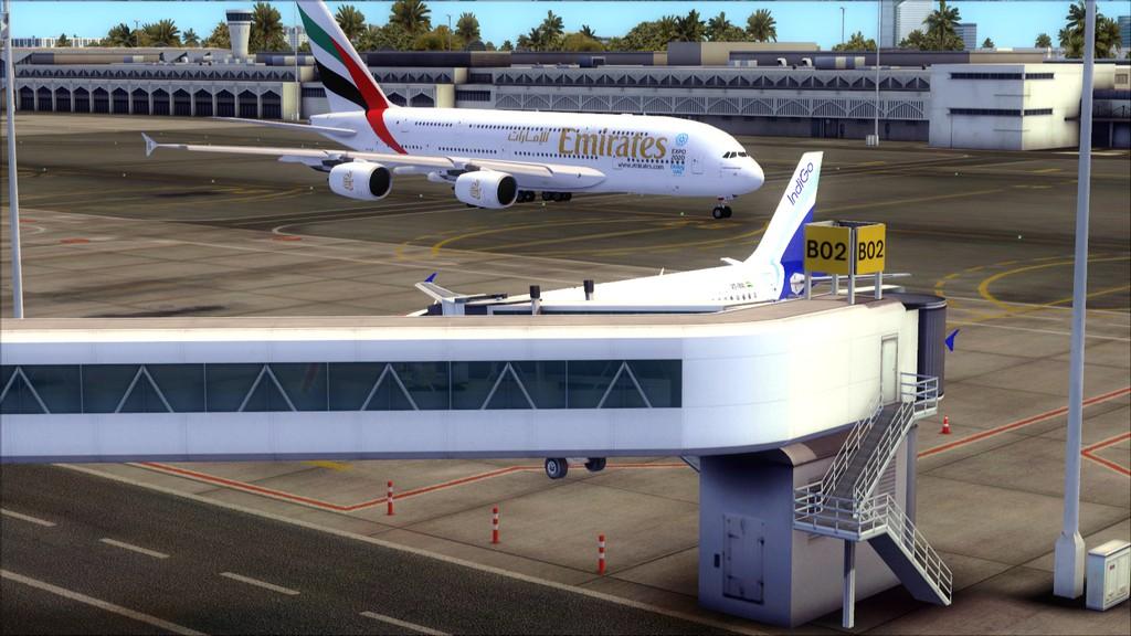 IndiGo A320 -> Dubai/OMDB - Mumbai/VABB OMDB-VABB3