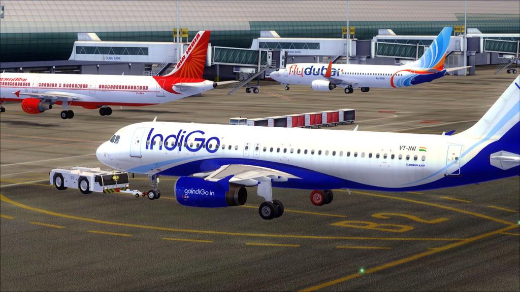IndiGo A320 -> Dubai/OMDB - Mumbai/VABB OMDB-VABB5