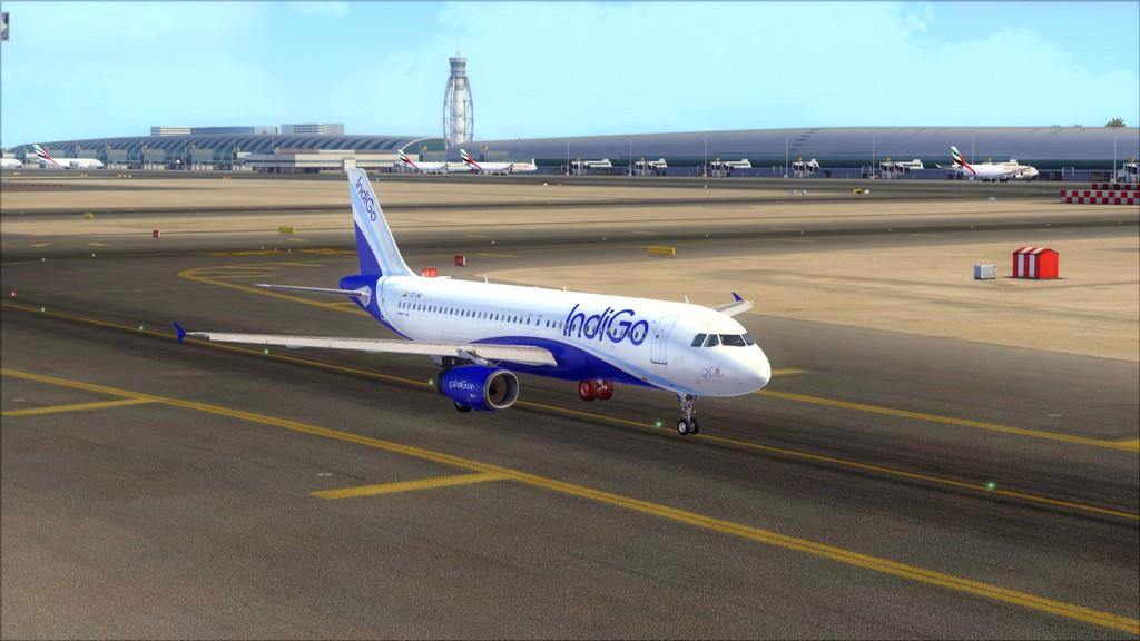 IndiGo A320 -> Dubai/OMDB - Mumbai/VABB OMDB-VABB6