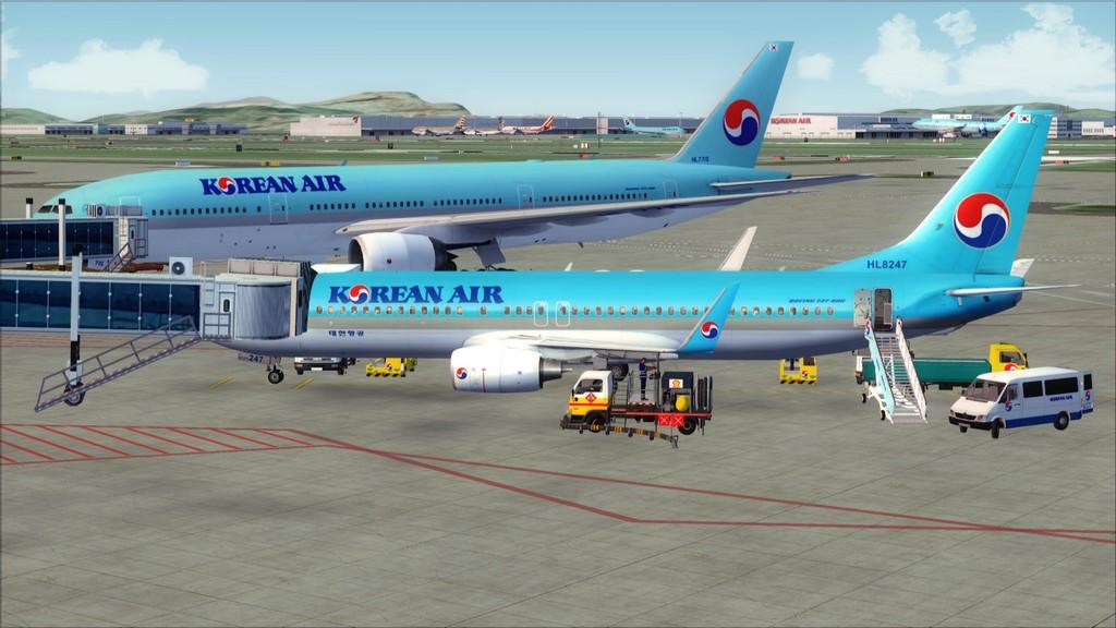 B738 Korean Air -> Seul-Nagoya RKSI-RJGG1