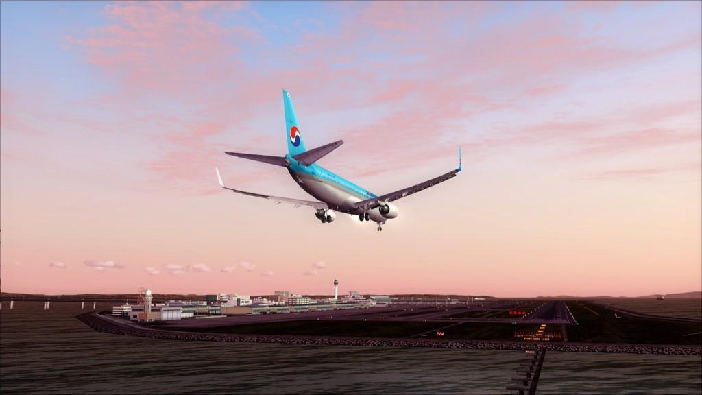 B738 Korean Air -> Seul-Nagoya RKSI-RJGG13