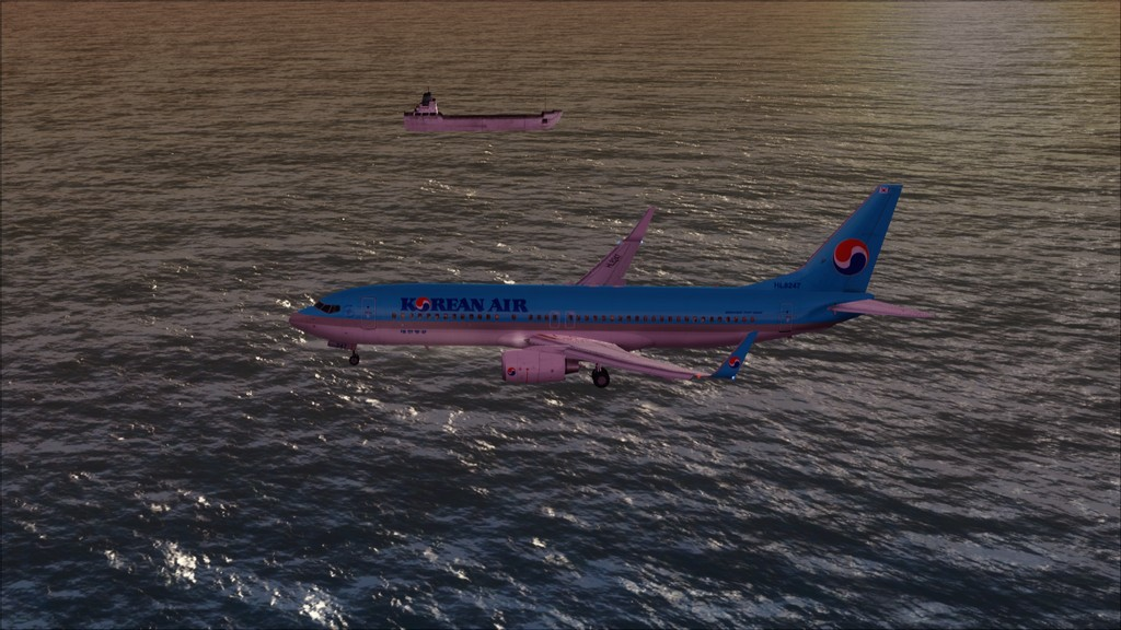 B738 Korean Air -> Seul-Nagoya RKSI-RJGG14
