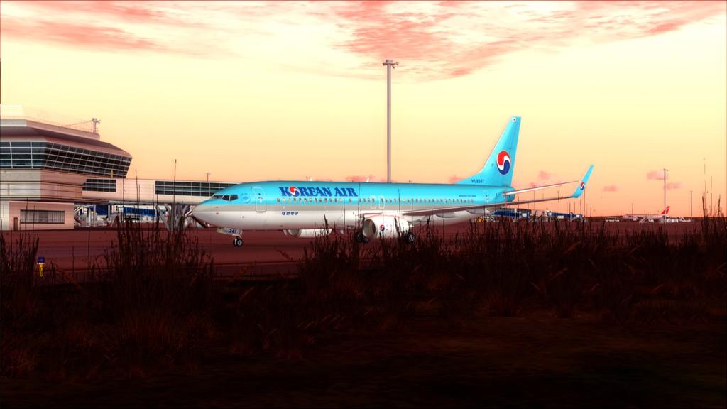 B738 Korean Air -> Seul-Nagoya RKSI-RJGG17