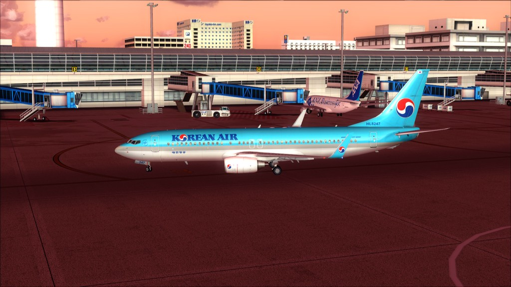 B738 Korean Air -> Seul-Nagoya RKSI-RJGG18