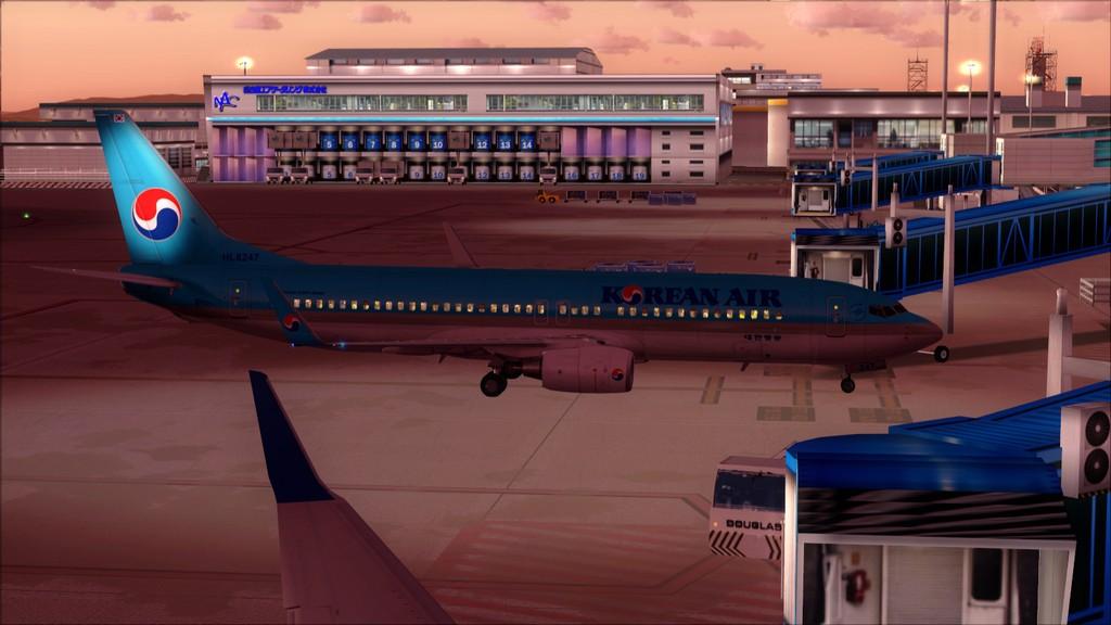 B738 Korean Air -> Seul-Nagoya RKSI-RJGG19